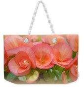 Dreamy Begonias Weekender Tote Bag