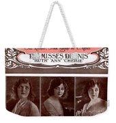 Dreamy Melody Weekender Tote Bag