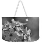Dreamy Spring Blossoms In Black And White Weekender Tote Bag
