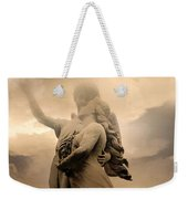 Dreamy Surreal Guardian Angels Ascent To Heaven Weekender Tote Bag