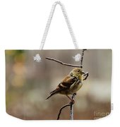 Drenched Finch Weekender Tote Bag