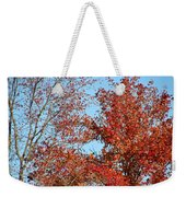 Dressed For Autumn Weekender Tote Bag