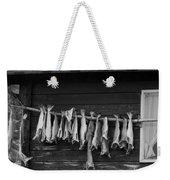 Dried Cod On A Line Weekender Tote Bag by Heiko Koehrer-Wagner