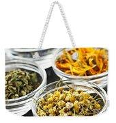 Dried Medicinal Herbs Weekender Tote Bag