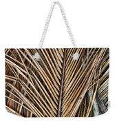 Dried Palm Fronds Weekender Tote Bag