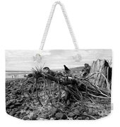 Driftwood And Rocks Weekender Tote Bag
