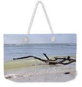 Driftwood In The Surf Weekender Tote Bag