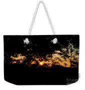 Drive By Sunset Weekender Tote Bag