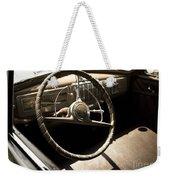 Driver's Seat Weekender Tote Bag