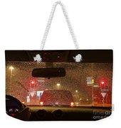 Driving A Car At Night Weekender Tote Bag
