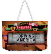 Driving America Douglas Auto Theatre Weekender Tote Bag