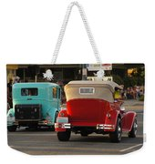 Driving Off Into History Weekender Tote Bag