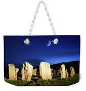 Drombeg, County Cork, Ireland Moon Over Weekender Tote Bag