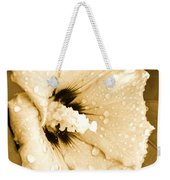 Droplets In Sepia Weekender Tote Bag