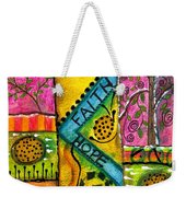 Drum Land Weekender Tote Bag