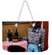 Drunk Werewolf Diner Weekender Tote Bag