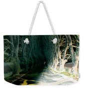 Drunken Night Drive Weekender Tote Bag