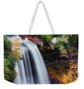 Dry Falls Or Upper Cullasaja Falls Weekender Tote Bag