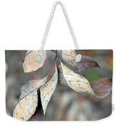 Dry Leaves Weekender Tote Bag