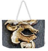 Dry Porcini Mushrooms Weekender Tote Bag by Elena Elisseeva