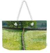 Dry Stone Wall And Lone Tree Weekender Tote Bag