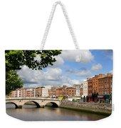 Dublin Cityscape Weekender Tote Bag