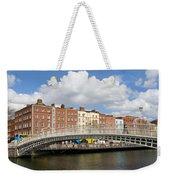 Dublin Scenery Weekender Tote Bag