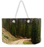 Dubois Mountain Road Weekender Tote Bag