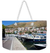 Dubrovnik Cityscape And Harbor Weekender Tote Bag