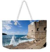 Dubrovnik Fortification And Pier Weekender Tote Bag