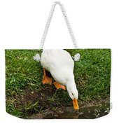 Duck And Refection Weekender Tote Bag