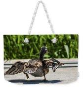 Duck And Run Weekender Tote Bag