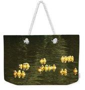 Duck Derby Ducks Weekender Tote Bag