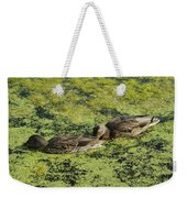 Duck Dinner Weekender Tote Bag