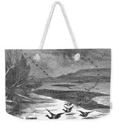 Duck Hunting, 1871 Weekender Tote Bag