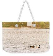 Duck Sailing Weekender Tote Bag