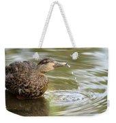 Duck Spits Weekender Tote Bag
