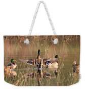 Ducks Of Douglas Weekender Tote Bag