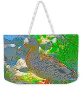 Duckside Weekender Tote Bag