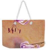 Duet 05c Weekender Tote Bag by Aimelle