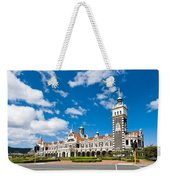 Dunedin Railway Station During A Sunny Day  Weekender Tote Bag
