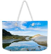 Dunes At The Beach Side During Morning  Weekender Tote Bag