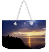 Dunluce Castle At Sunset, Co Antrim Weekender Tote Bag
