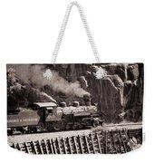 Durango And Silverton Steam Train Weekender Tote Bag