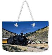 Durango And Silverton Train Weekender Tote Bag
