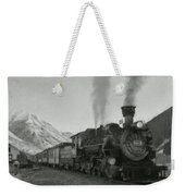 Durango Silverton Bw Painterly 2 Weekender Tote Bag