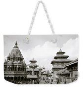 Durbar Square Patan Weekender Tote Bag
