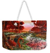 Dusk Weekender Tote Bag by Ayan  Ghoshal