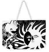 Dusk Dancer - Inverted Weekender Tote Bag