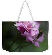 Dusk Light Roses Weekender Tote Bag